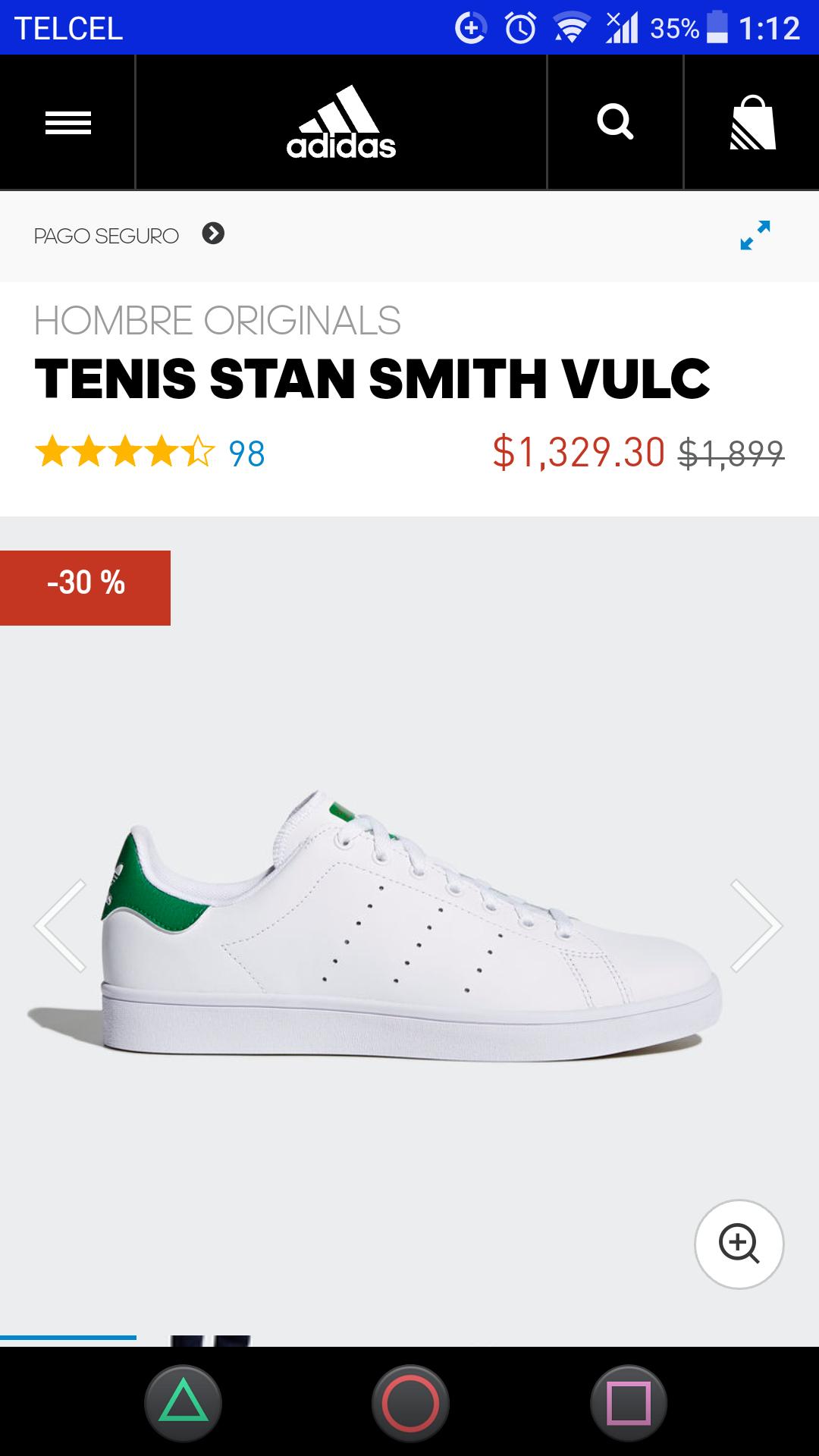 Adidas: Tenis Adidas Stan Smith Vulc