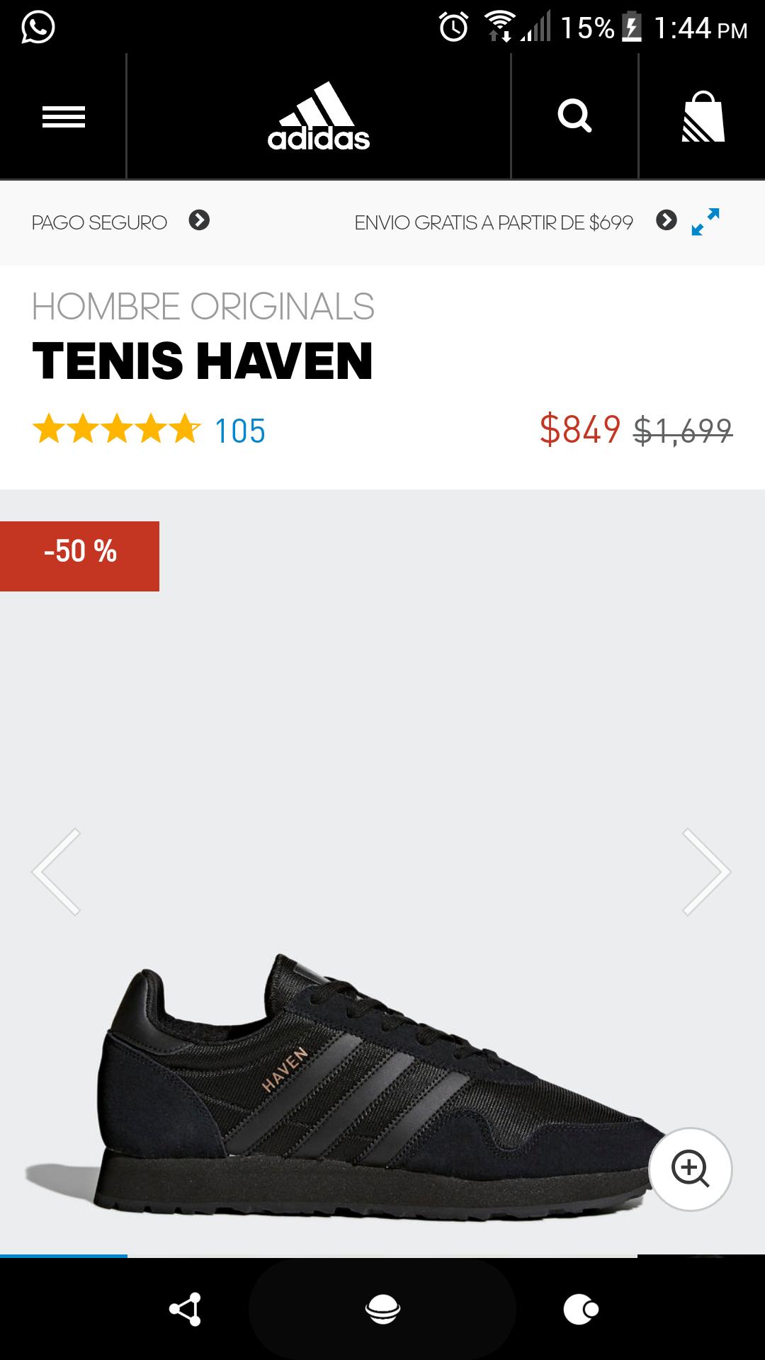 Adidas: Tenis Adidas Haven