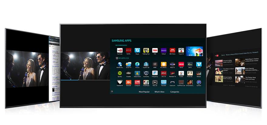 "LINIO Television Samsung UN55H6300 Smart TV LED 55"" 1080p 240Hz RPM Reacondicionado-Negro"