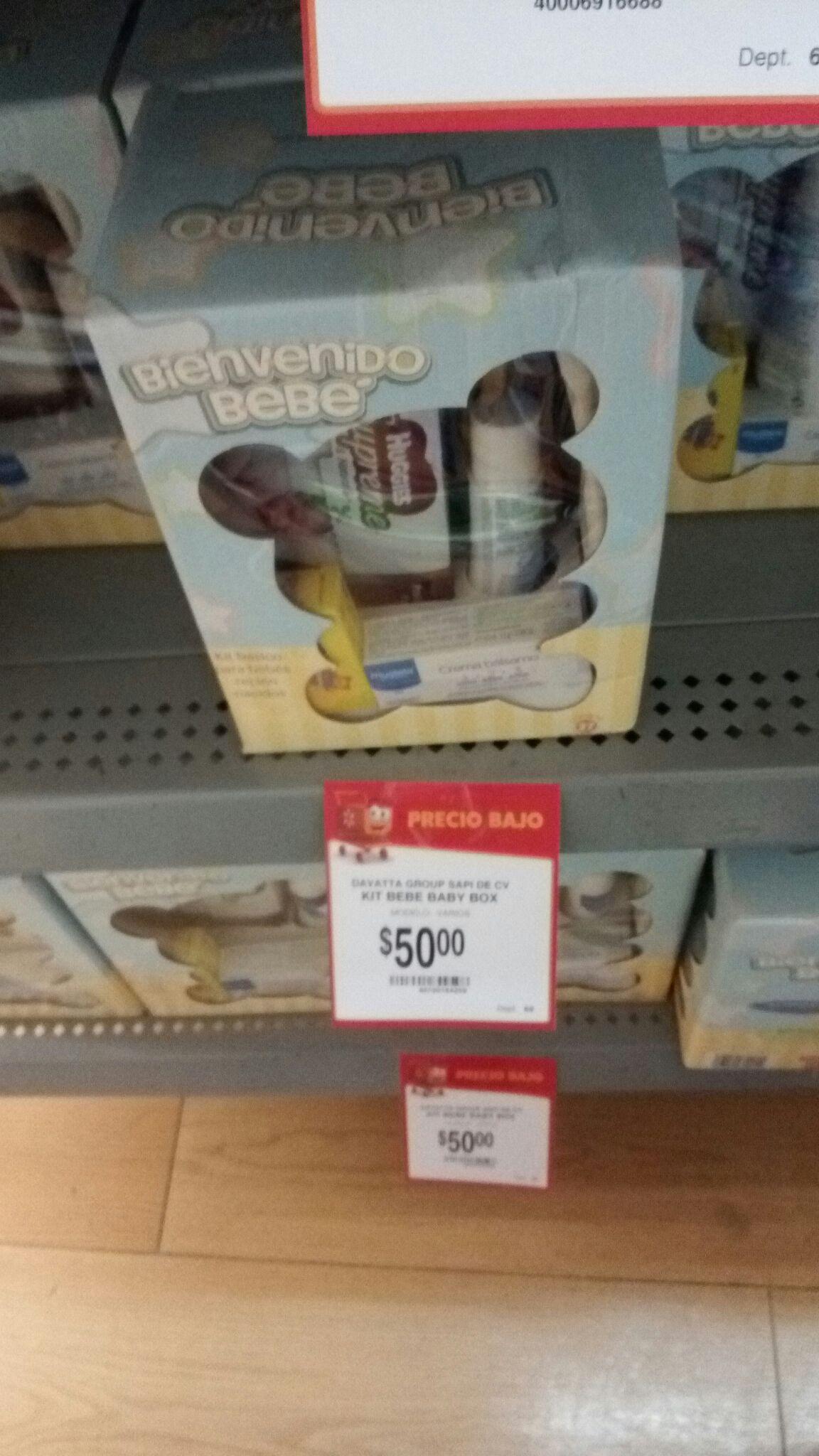 Walmart ote tuxtla: kit bienvenida bebe $50