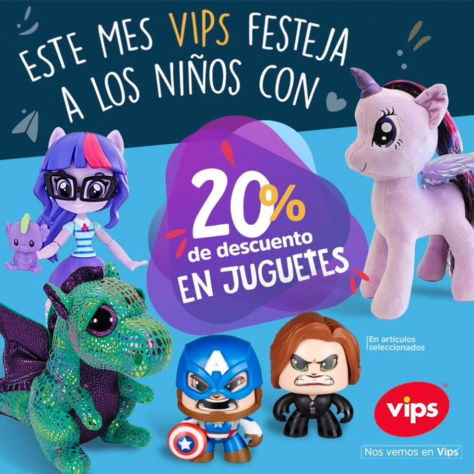 Vips: 20% de descuento en juguetes seleccionados
