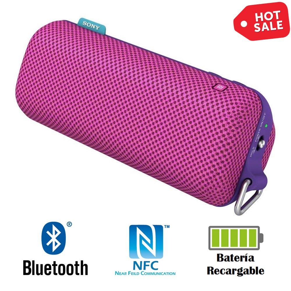 Hot Sale 2015 en Walmart: Bocina Bluetooth Sony Rosa con NFC