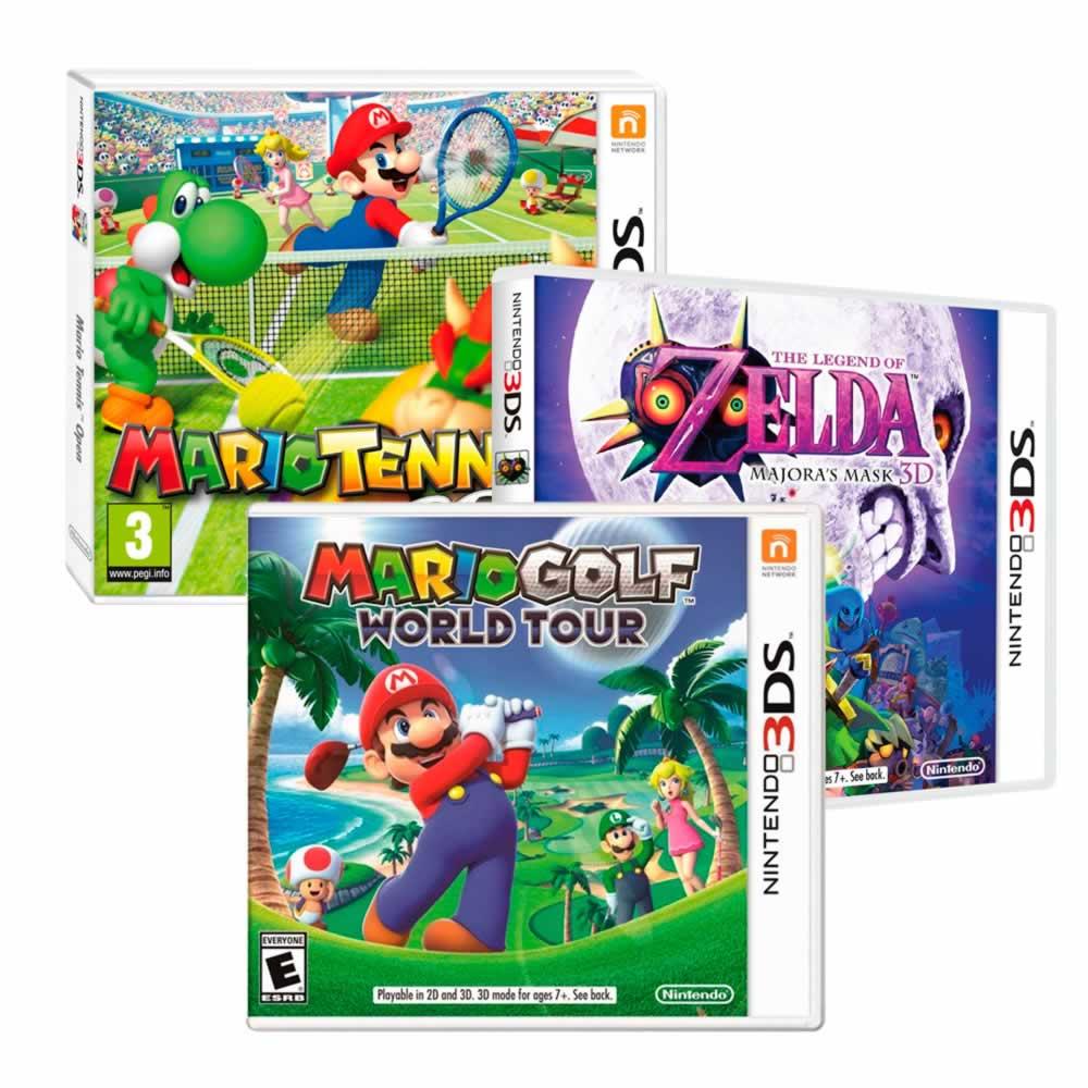 Walmart paquetes de varios videojuegos 3DS y Wii U