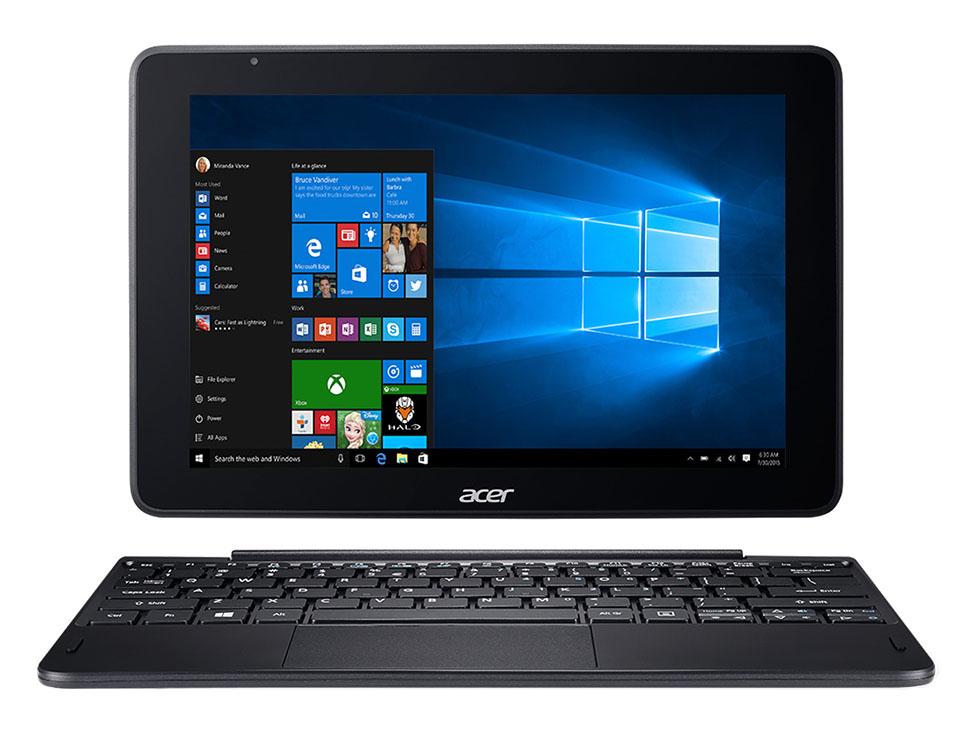 Liverpool: Laptop 2 en 1 Acer Aspire One 10.1 Pulgadas Touch Windows 10,  Intel Atom 2 GB RAM 32 GB Disco Duro