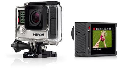 Linio Hot Sale: GoPro HERO4 Silver Edition a $5,155 y Black a $6621 con Banamex