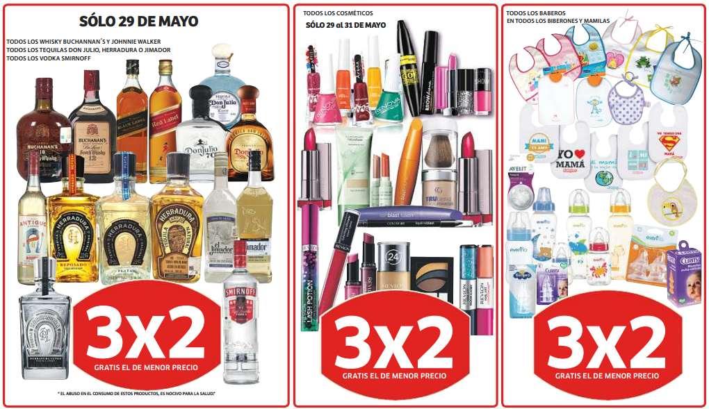 Soriana: 3x2 en cosméticos, biberones, baberos y mamilas