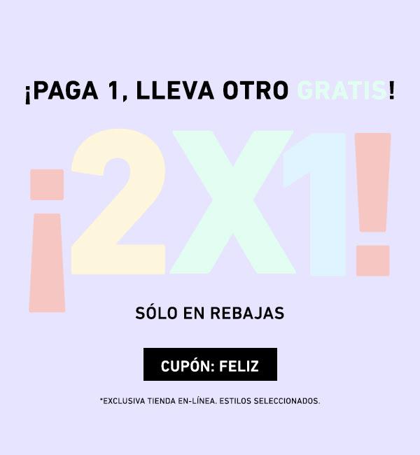 Forever 21 2X1 en todas las rebajas