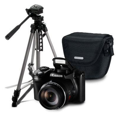 Hot Sale Canon: PowerShot SX510 HS Reacondicionada + Tripié y Estuche de REGALO a $1,999