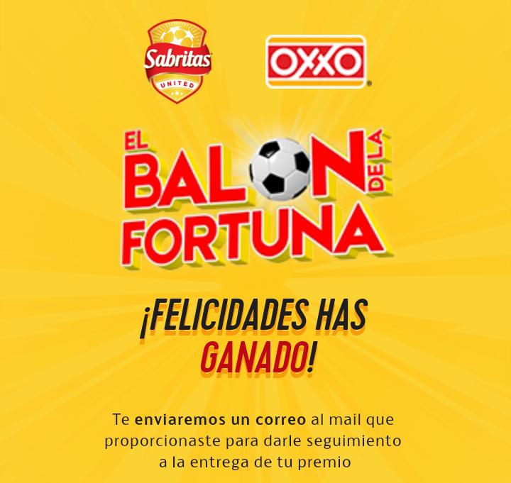 Oxxo - Sabritas: El Balón de la Fortuna