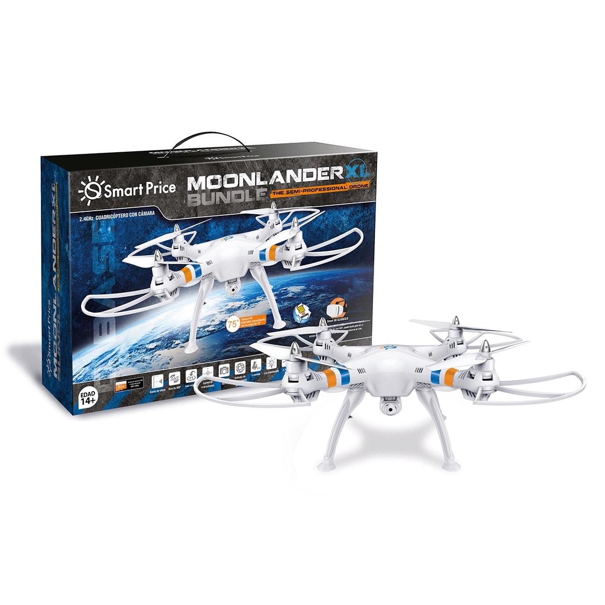 Radioshack - DRONE SMART-TOYS MOONLANDER XL (WIFI, VR GLASSES)