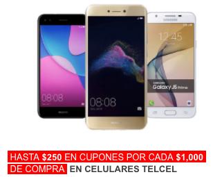 BestBuy: Hasta $400 en cupones por cada $1000 en celulares Telcel (incluye Samsung Galaxy S9, S9+ y más)