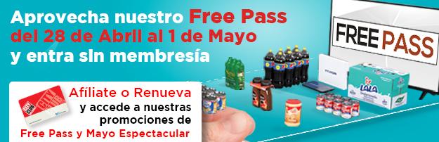 City Club: Free Pass compra sin membresía hasta el 1 de Mayo