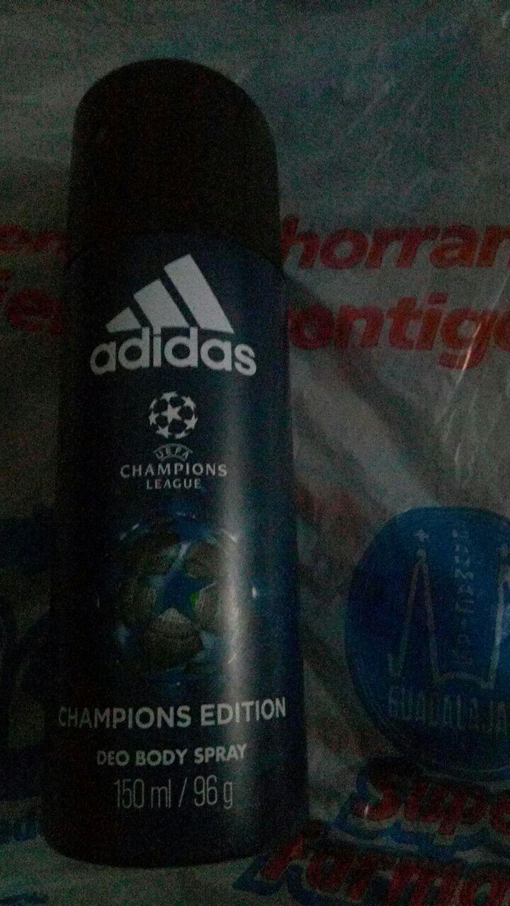 Farmacia Guadalajara: desodorante Adidas Champions league edition y varios casi a mitad de precio