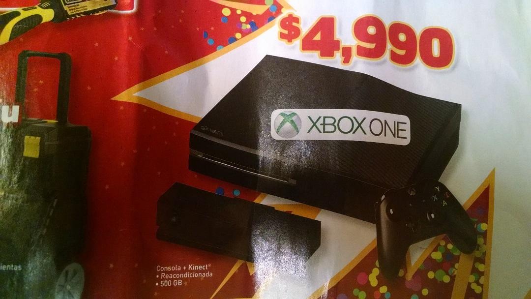 Bodega Aurrerá: XBOX ONE con Kinect reacondicionado $4,990 y más