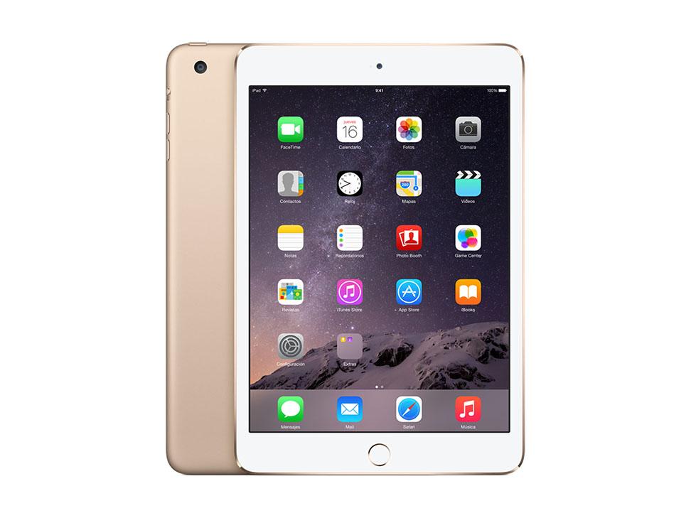 Liverpool: iPad Mini 3 16GB Wi-Fi Dorado, Gris y Plata a $4,799