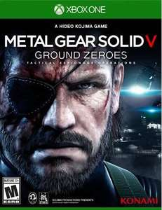 Game Planet: Metal Gear Solid V Ground Zeroes Xbox One $349, PS4 $399