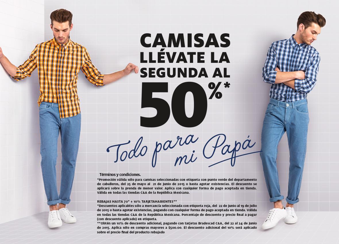 C&A: 2x1 y medio en camisas seleccionadas y fechas de rebajas de verano