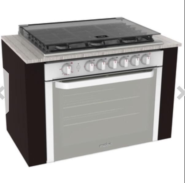 Tienda Mabe: Estufa de empotre 80 cm Blanca - EMD80320CBI0