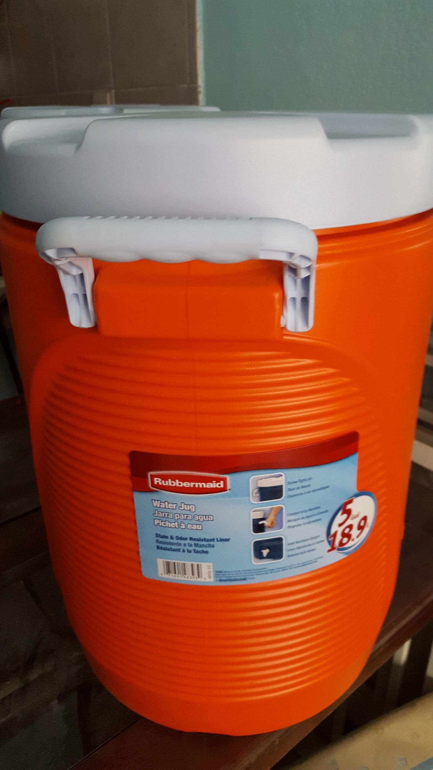 Bodega Aurrerá: termo rubbermaid 5 galones