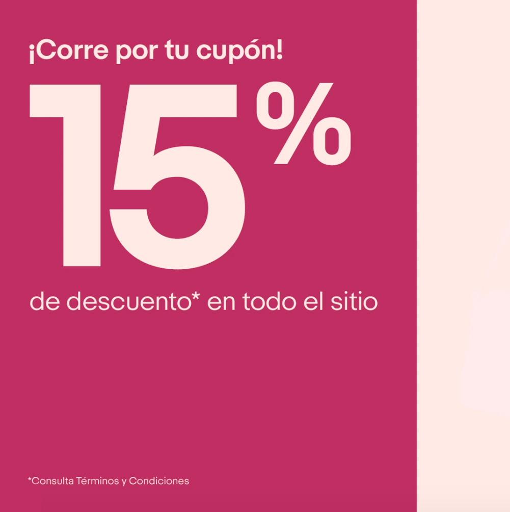 eBay: Cupón 15% de descuento en compras mayores a $50USD