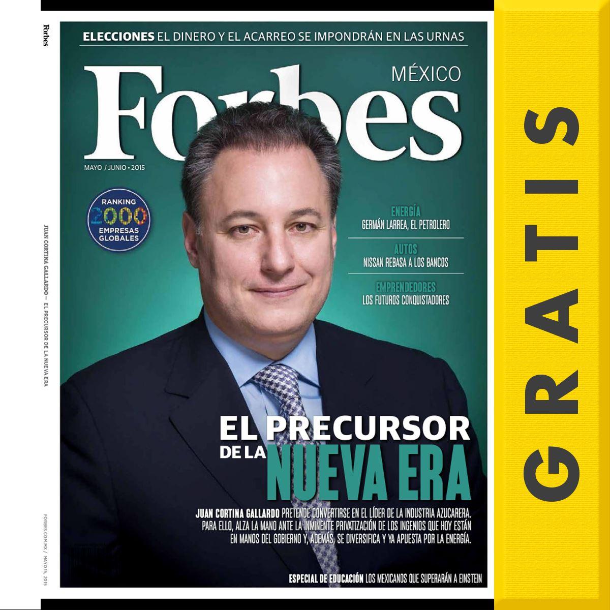 Sanborns: revistas digitales gratis de junio (Expansión, Forbes y más)