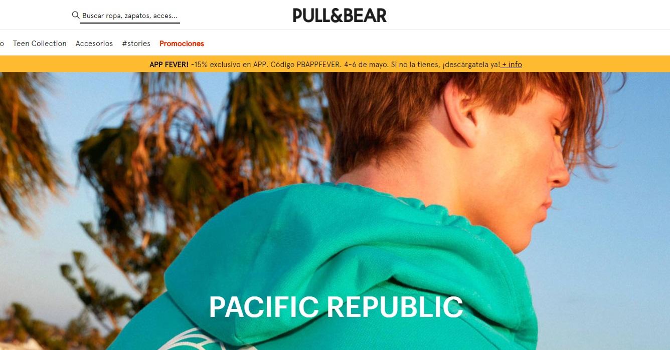 PULL&BEAR APP FEVER! -15% exclusivo en APP