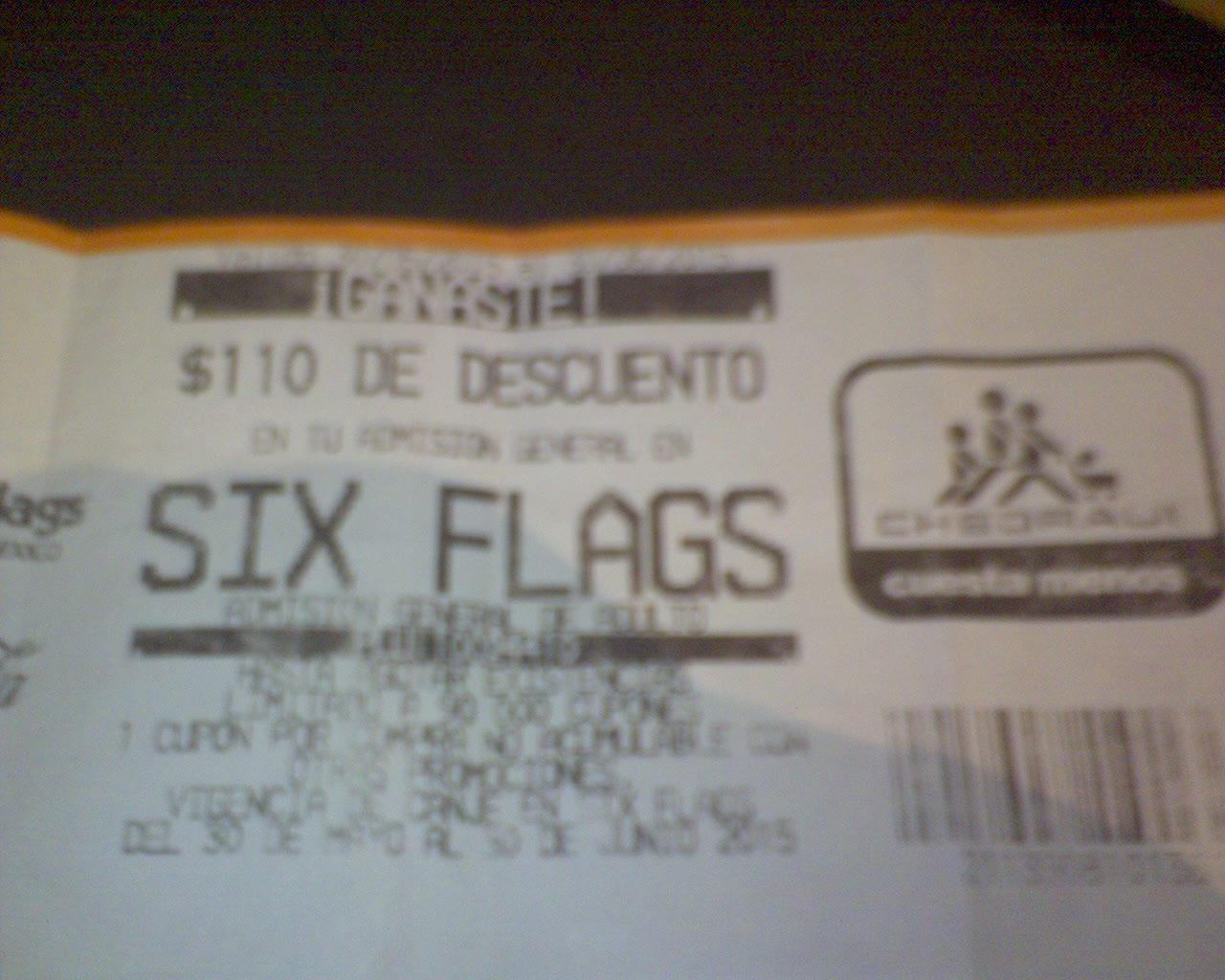Chedraui: $110 de descuento para Six Flags en la compra de 2 Coca-Colas de 2.5/3L
