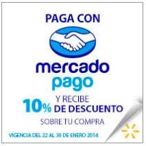 Walmart: 10% de descuento con MercadoPago