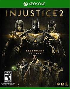 Amazon: Injustice 2 Legendary Edition Xbox One