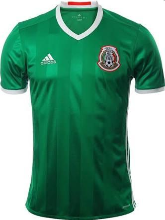 El nuevo mundo (MTY): Jersey Adidas de la Selección Mexicana (edición anterior)