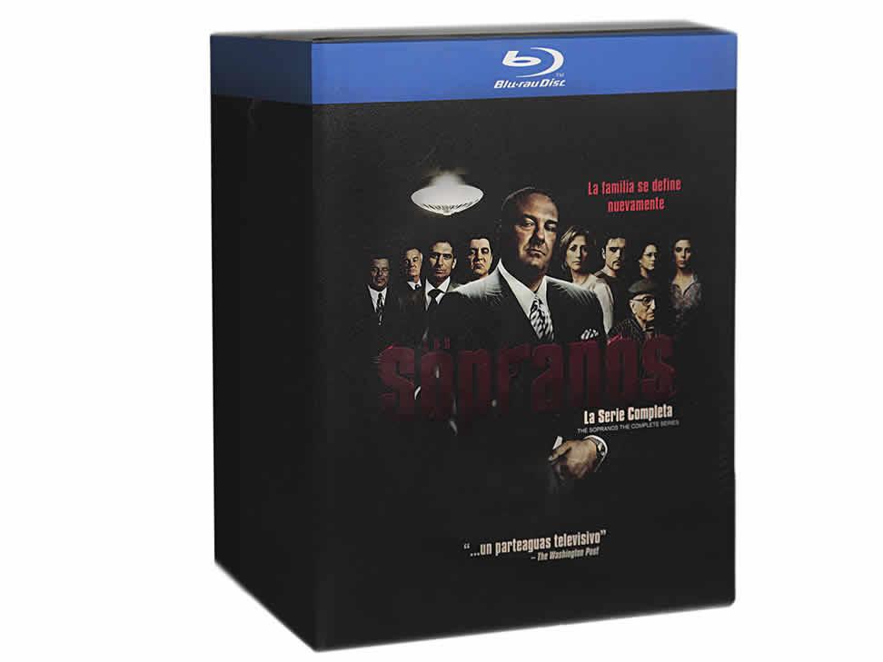 Liverpool: Los Sopranos: La Serie Completa Blu-ray $249