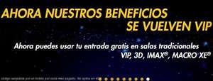 Cinépolis: 1 boleto gratis cada mes para suscriptores de Cinépolis Klic (VIP, 3D o IMAX)