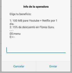 Movistar:  Lucky day, 100Mb para Netflix o Youtube - 15% de descuento flores Guru