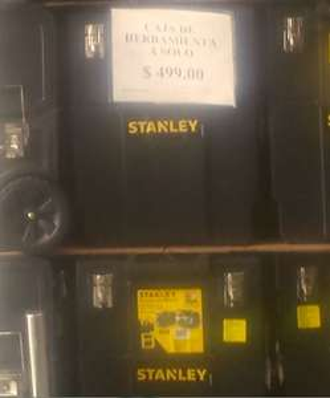 City Club: Caja de herramientas Stanley con ruedas $499