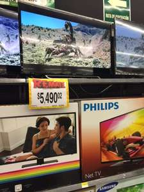 """Bodega Aurrerá: Smart Sony 40"""" KDL-40W600B $5,490.02"""