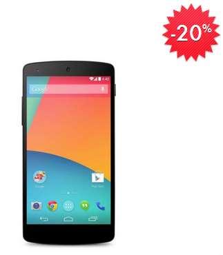 Linio: Nexus 5 16GB $6,479 y 32GB $7,108 y envío gratis