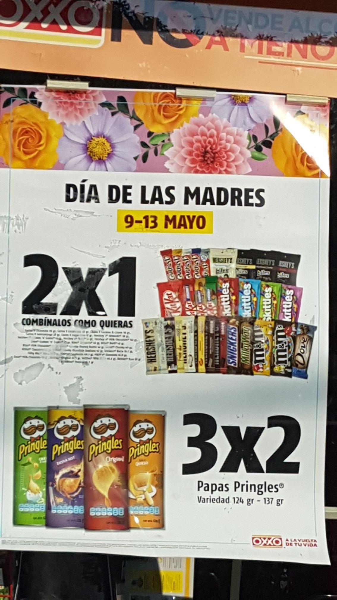 Oxxo Chocolates 2X1