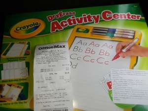 OfficeMax: Crayola Dryerase activity center