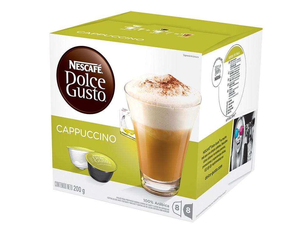 Liverpool: Caja Nescafé Dolce Gusto - Capuccino, Express, etc $ 69 pesitos