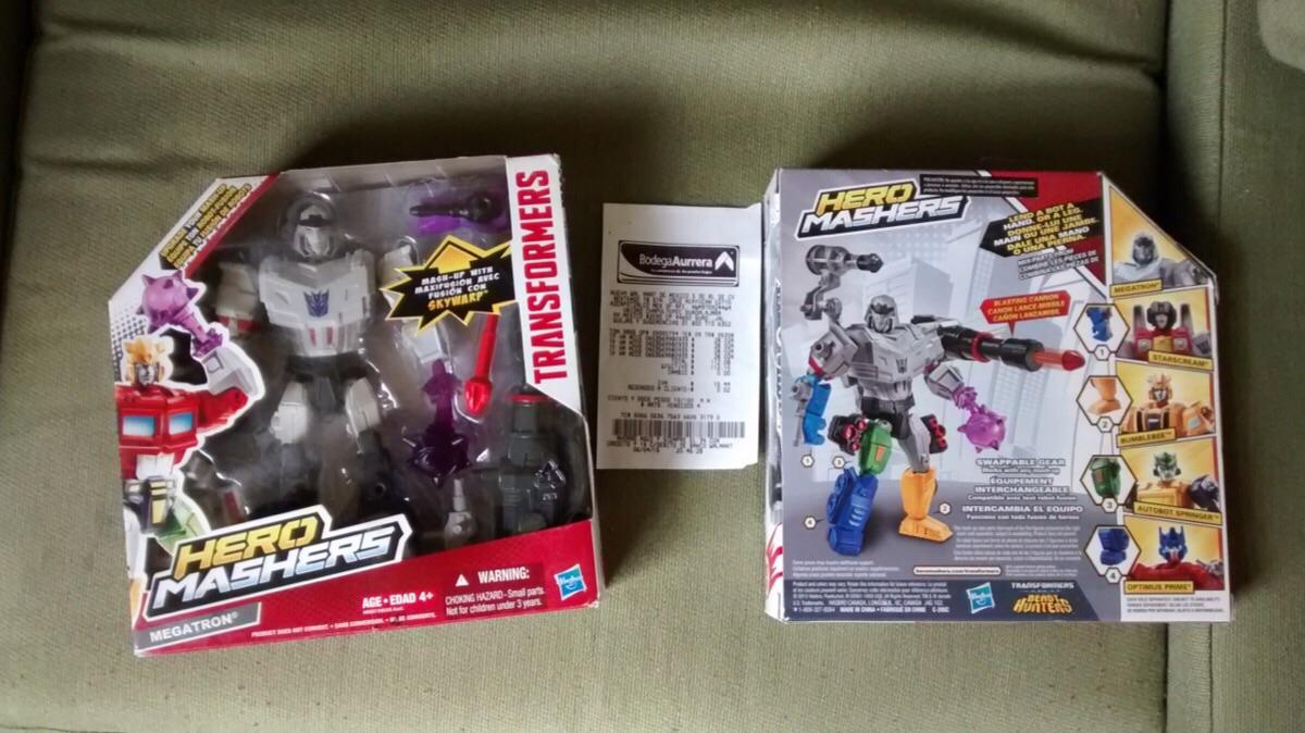 Bodega Aurrerá: Transformers a $28.02