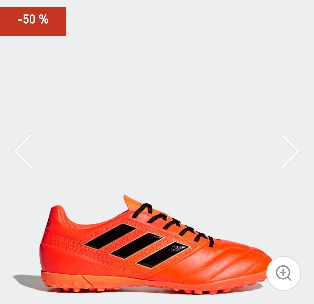 Adidas: Calzado de fútbol Ace 17.4 (Tallas del 5.5 al 9mx)