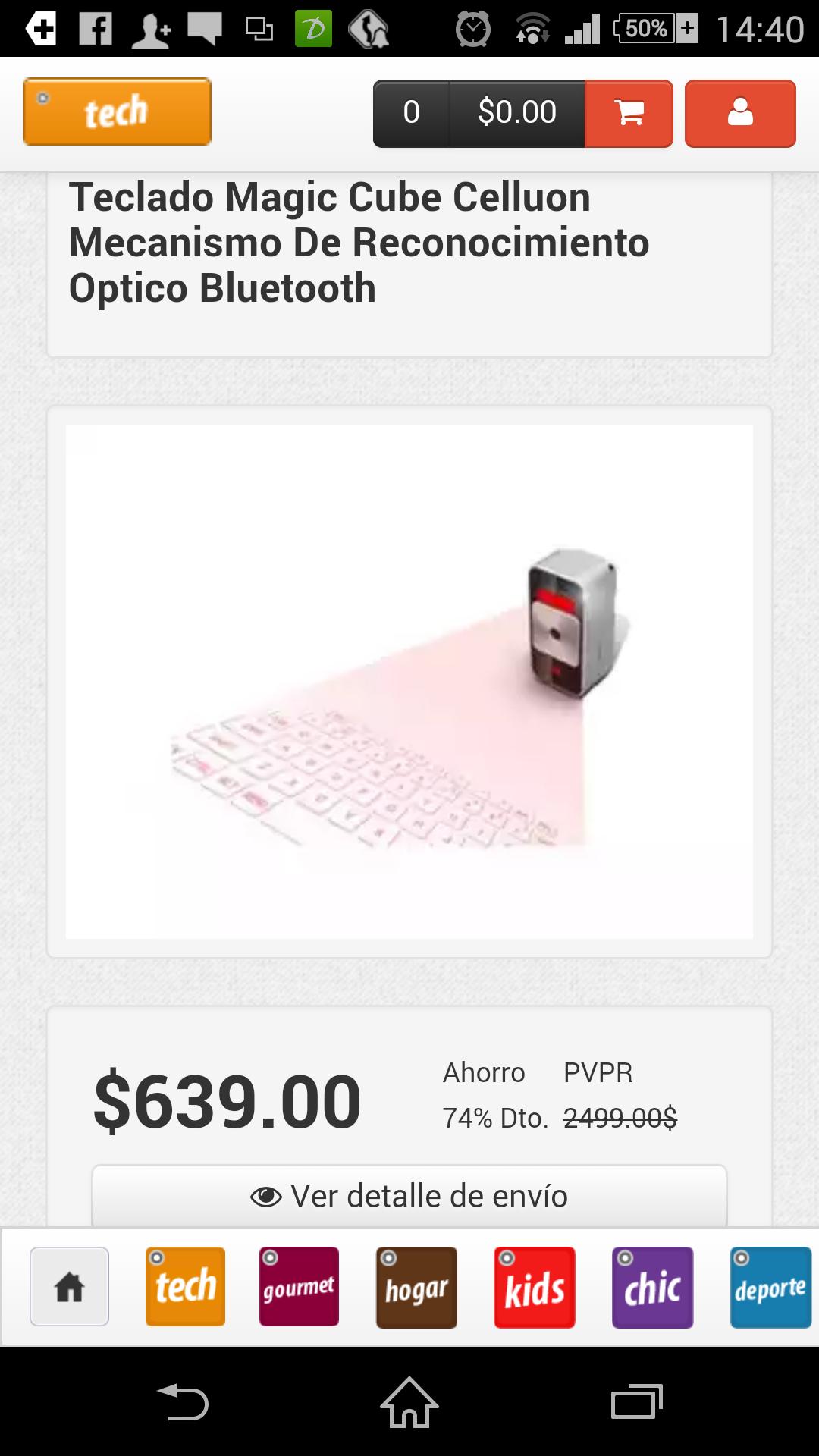 MeQuedoUno: Teclado digital a $639 y más