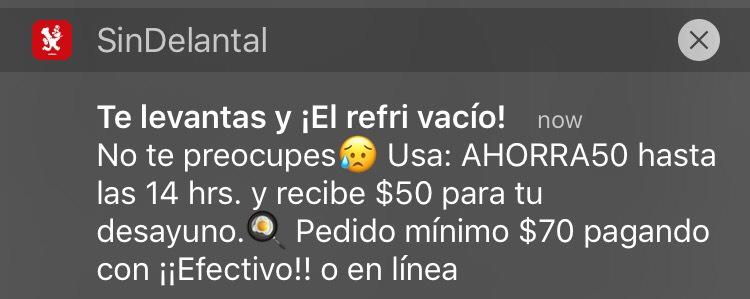 Sin Delantal: 50$ de descuento en compras de 70$