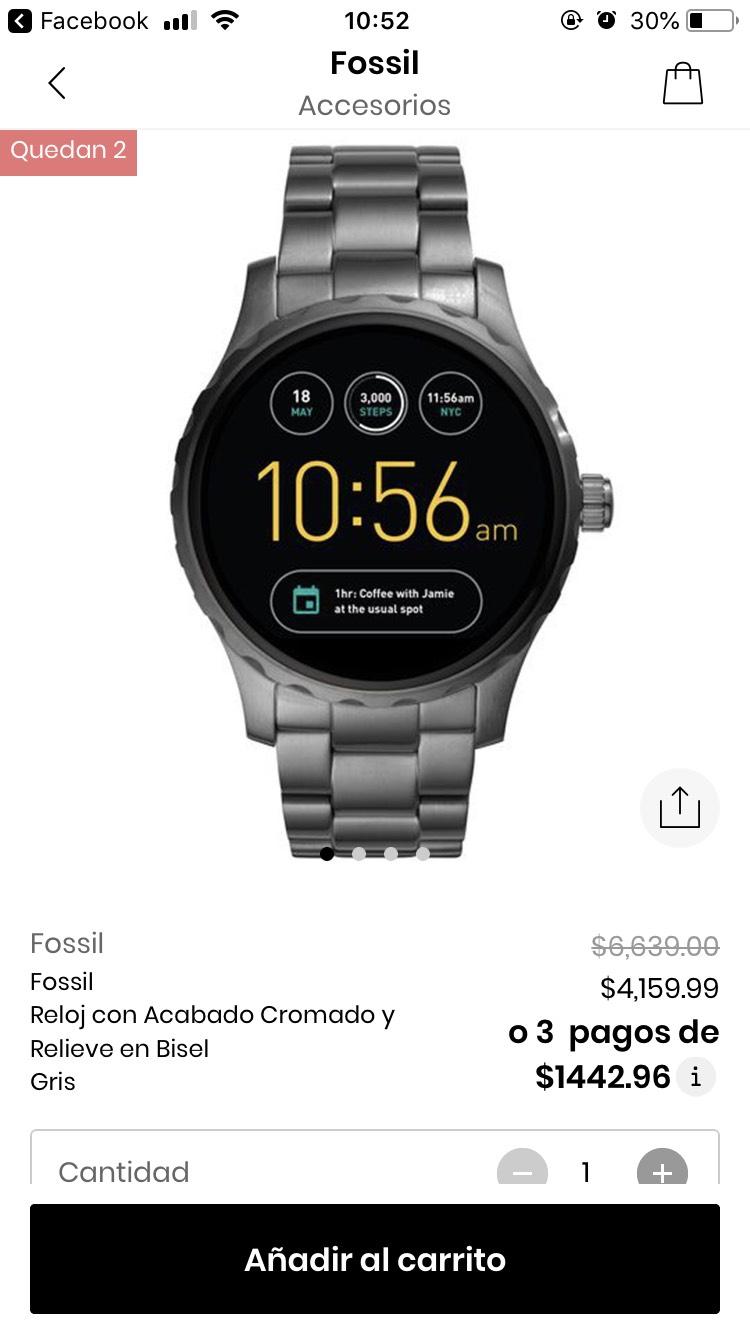 Privalia: Smartwatch FOSSIL