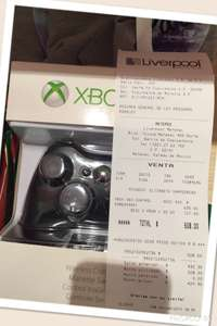 Liverpool: Control original Xbox 360 wireless a $508