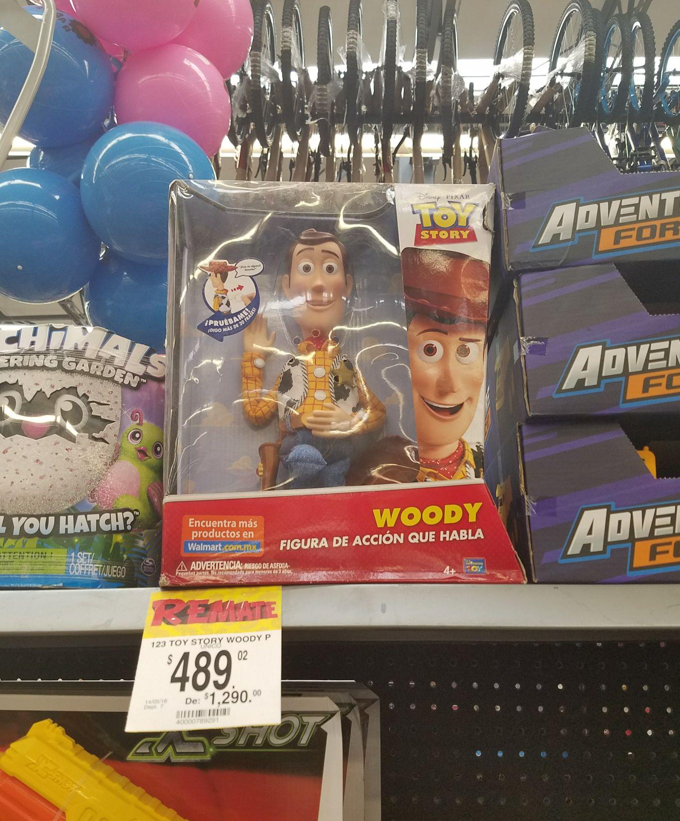Bodega Aurrerá: Woody de Toy Story con sonidos