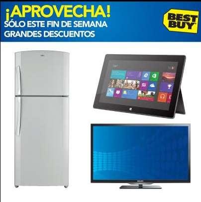 """Best Buy: LED Smart TV 40"""" $6,699 y refrigerador 19' $6,999 y $1,500 en cupones"""