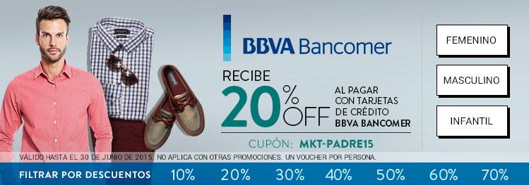 Dafiti: 20% de Descuento extra sobre lo ya rebajado con Bancomer