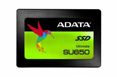 Cyberpuerta: Disco Estado Solido SSD Adata Ultimate SU650, 120GB, SATA III, 2.5