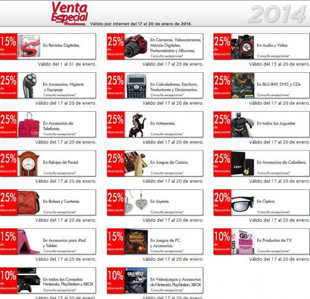 Venta especial Sanborns: 25% menos en audio, video, cámaras, juguetes, películas y más